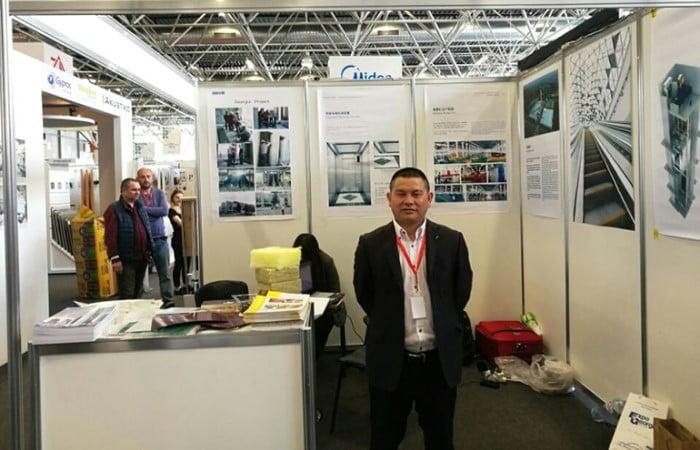 Dazen Elevator attended the 22th Caucasus Build 2017 in Georgia